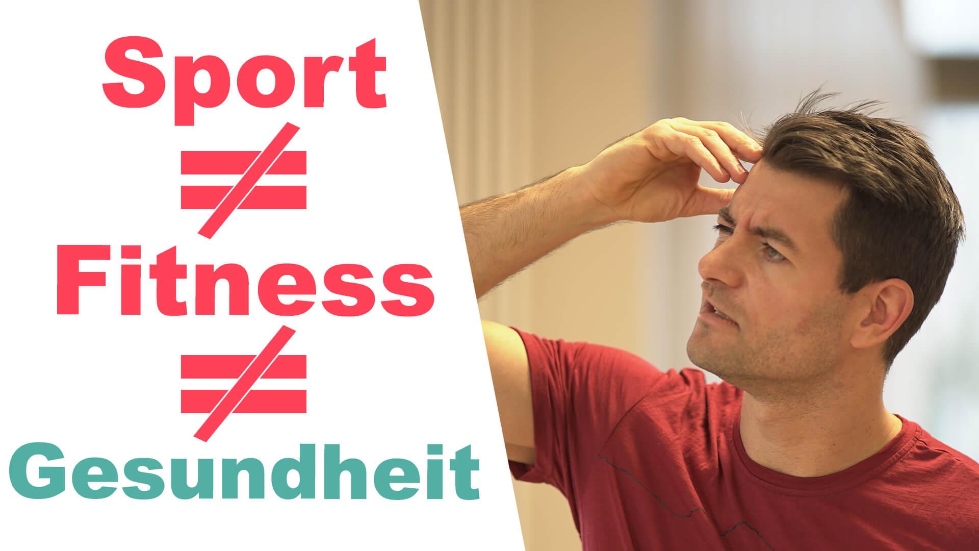 Fitness Gesundheit Sport